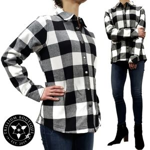 Orvis Women's Plaid Fleece Lined Shirt Jacket NWT